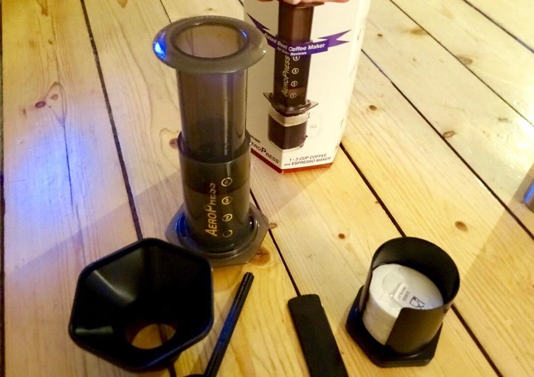 Aeropress Kaffeezubereiter Kurztest